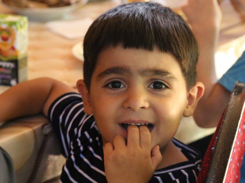 Uşaq evində bir gün - FOTOLAR